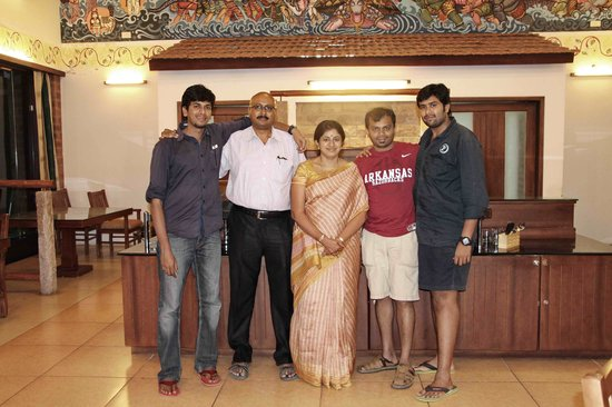 Kadambavanam Restaurant: The family