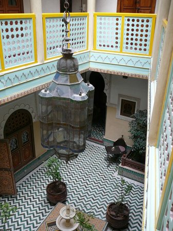 Riad et Dar Maison Do: Interior courtyard
