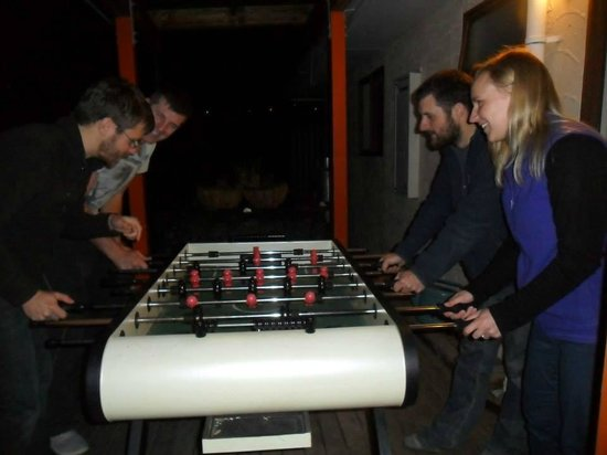 The Bug Backpackers : Foosball