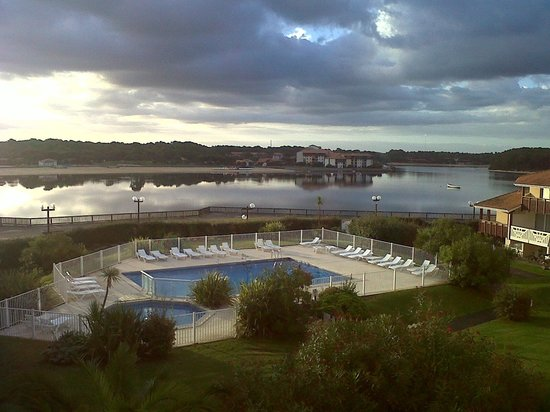 Résidence Mer & Golf Le Boucanier : Une telle vue au petit déjeuner met de bonne humeur !