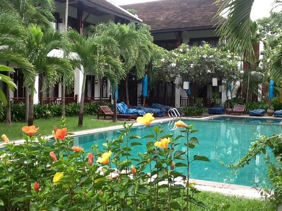 Green Park Boutique Hotel : The swiming pool