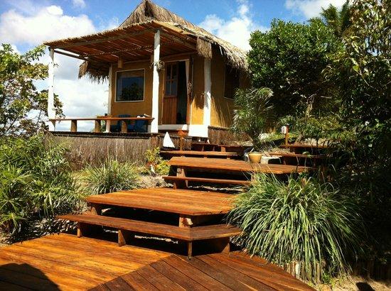 Eco-Pousada Casa Bobo : nuestra cabaña