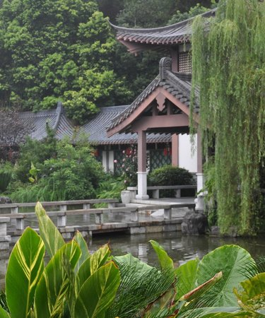 Guilinyi Royal Palace: Eingang zum Restaurant