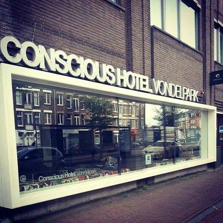 Conscious Hotel Vondelpark: Front view