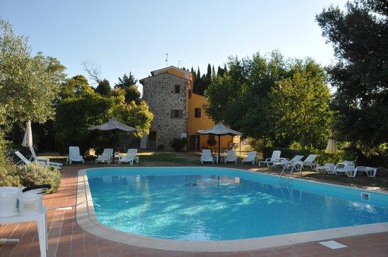 Villa Tatti from Pool