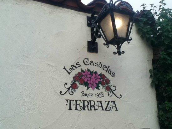 Las Casuelas Terraza : The entrance.
