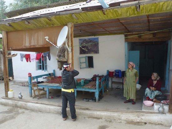 Zeravshan Valley, Tayikistán: Küche des guesthouse