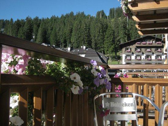 Hotel Ariston : Veduta dal balcone