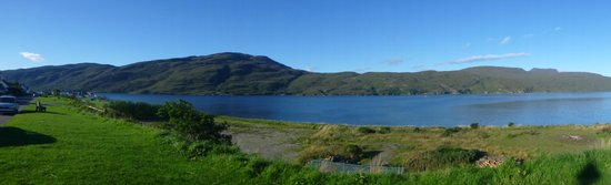 Tigh Na Failte Ullapool Bed & Breakfast : view from front of house