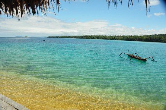 Ratua Private Island: View from private bar deck