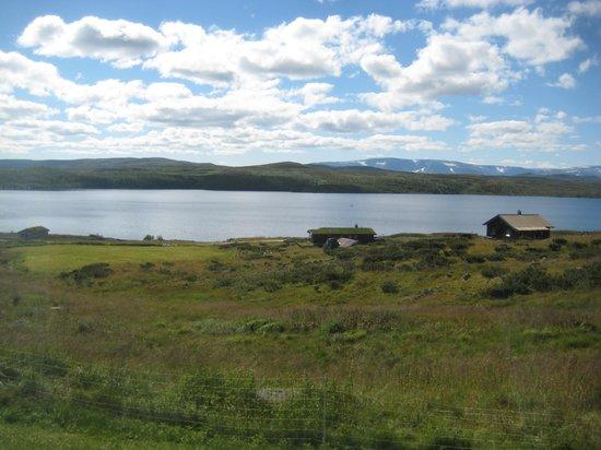 Rodungstol Hoyfjellshotell: utsikt fra rommet