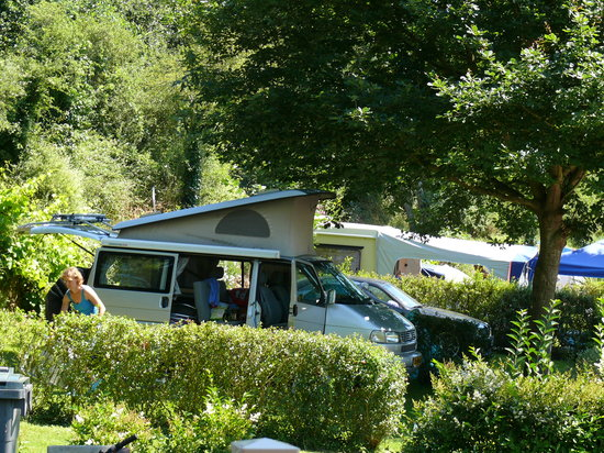 Camping la Vallée : notre volkswagen à saint pabu