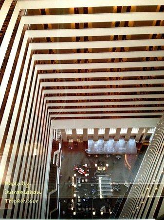 Hyatt Regency Houston : View from elevator