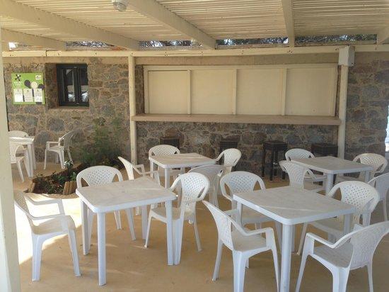 Naxos Imperial Resort & Spa: Il bar della caletta privata!!!!!
