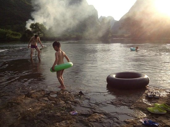 Ecofarm Lodge: Nature swimming pool