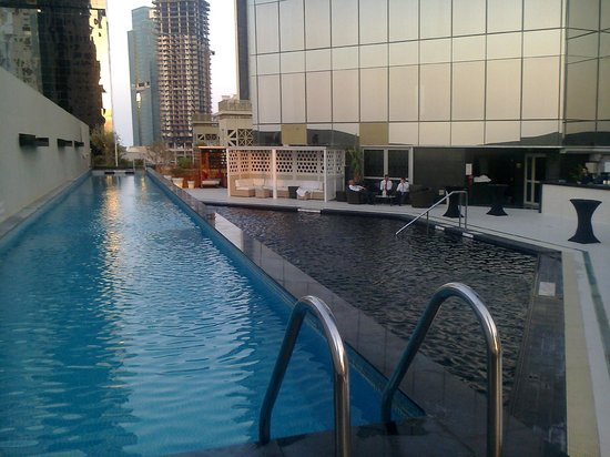W Doha Hotel Residences Lap Pool And For Normal People