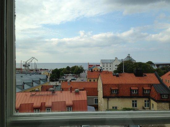 Clarion Hotel Wisby: Havs utsikt från rummet