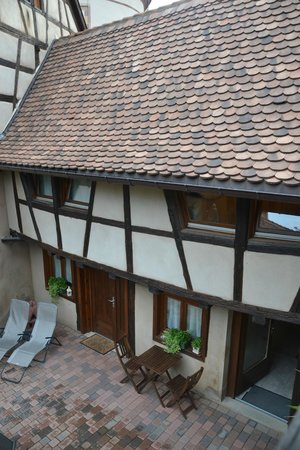 La Rose d'Alsace : The view of the hotel