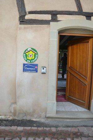 La Rose d'Alsace : The  entrance