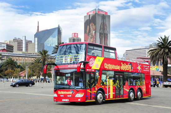 City Sightseeing Joburg: Beautiful Johannesburg - regular, daily tours from 9am to 5pm, every day!