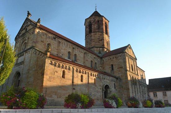 La Rose d'Alsace : Sight of the city