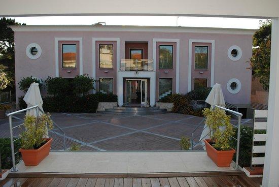 Hotel Mareluna: L'ingresso