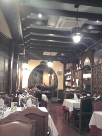 Restaurante El Figón de Recoletos : la decoracion