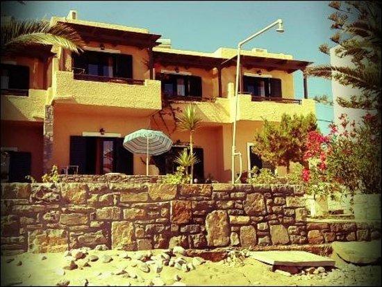 Villa Plori : Villa from beach