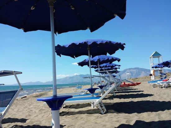 La Serra Holiday Village & Beach Resort : Spiaggia
