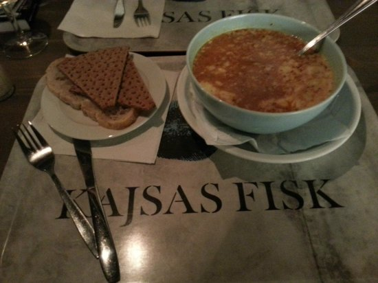 Kajsas Fisk: fish soup