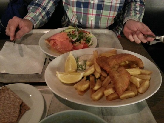 Kajsas Fisk: fish and chips