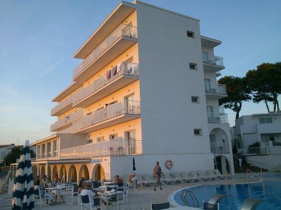 Hotel Playa Azul: hotel, bloque principal
