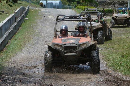 Chukka Caribbean Adventures: Leaving the old sugar plantation