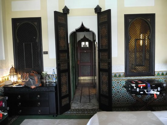 La Mamounia Marrakech: Modern Moroccan architechture.