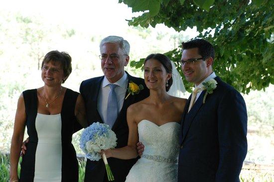 Relais Villa Belpoggio : the wedding