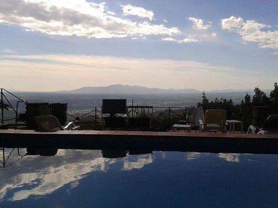 Hotel Bellavista: bel panorama dalla piscina