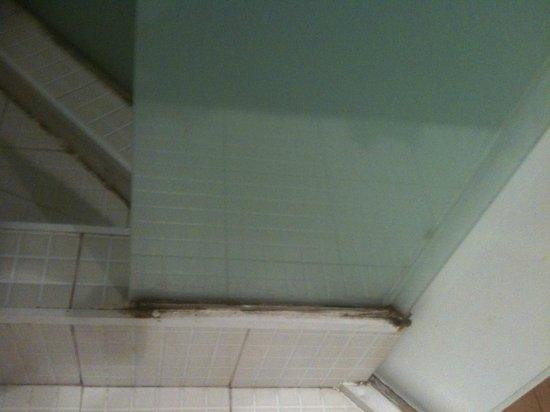 BarcelonaForRent Gran Via Deluxe : Etat de la salle de bain avec la douche