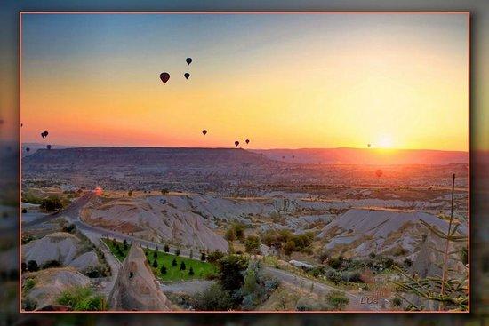 Cappadocia Cave Resort & Spa: Sunrise