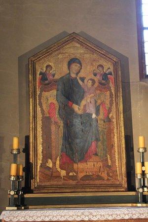 Basilica di Santa Maria dei Servi Bologna: Maestà di Cimabue