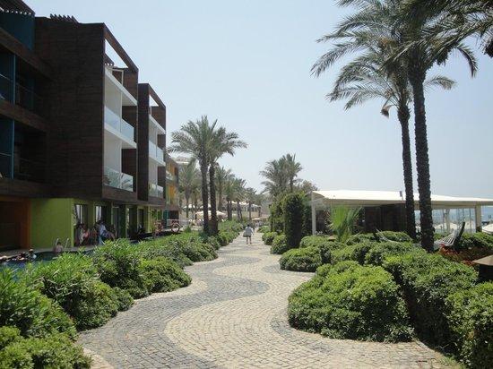 Sundance Resort: Paseo hacia Turgutreis desde el hotel