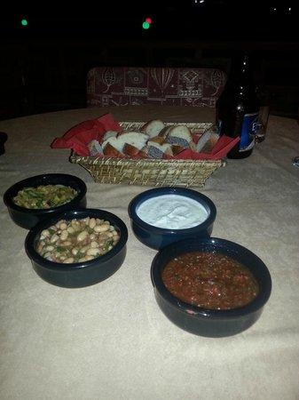 Lush Restaurant Bar: Meze - forrett