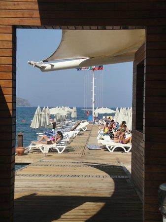 Sundance Resort: Muelle de la playa