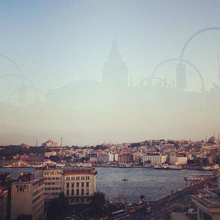 Gradiva Hotel: Ausblick von der Dachterrasse