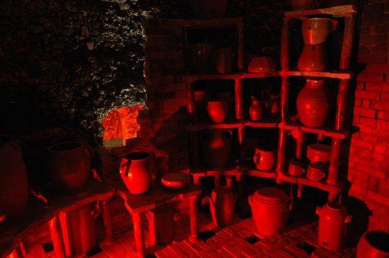 Malicorne Espace Faïence - le Musée : les fours à grès