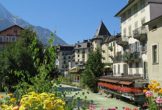 Hotel Restaurant Bellevue : Chamonix