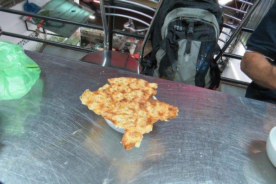 Saigon Street Eats: banana sliced thinly, yummy