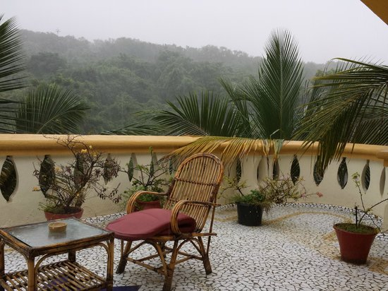 Bougainvillea Guest House Goa: View from private terrace in penthouse