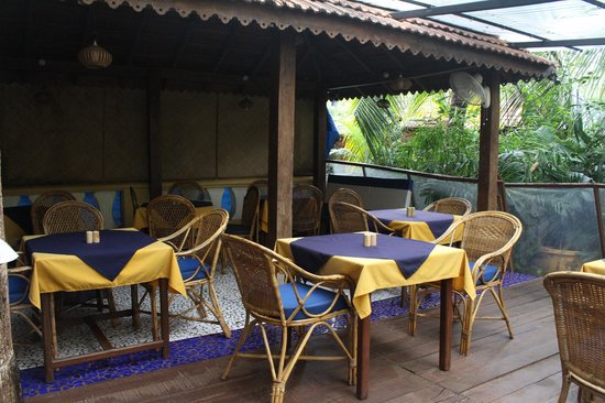 Bougainvillea Guest House Goa: Restaurant