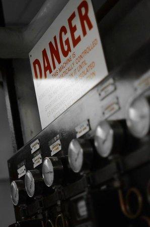 York Cold War Bunker: Danger