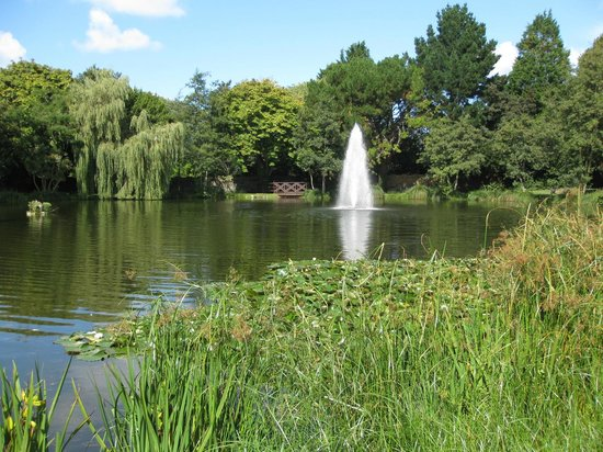St. Pierre Park Hotel, Spa & Golf Resort: Lake and fountain